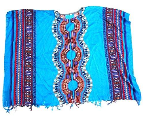 エスニックポンチョアフリカン柄 エスニック衣料