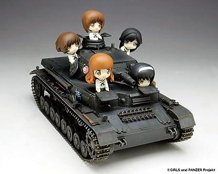 1/35 Girls und Panzer Panzer IV D-type angler team Petit angler with team