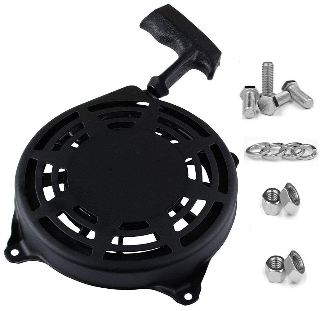 TOPEMAI 497680 Rewind Recoil Starter for Briggs and Stratton Parts 497680 Oregon 31-068 and Rotary 12368 Toro Lawnboy MTD Snapper Lawnmower