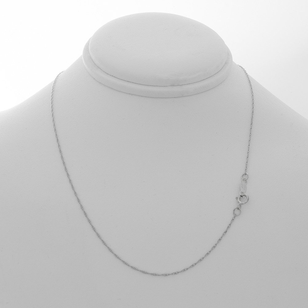 925 Sterling Silver Travel Charm Pendant with 18 Inch Chain, Boothbay Harbor, On Round, 14k Gold Lighthouse Center by Million Charms (Image #4)