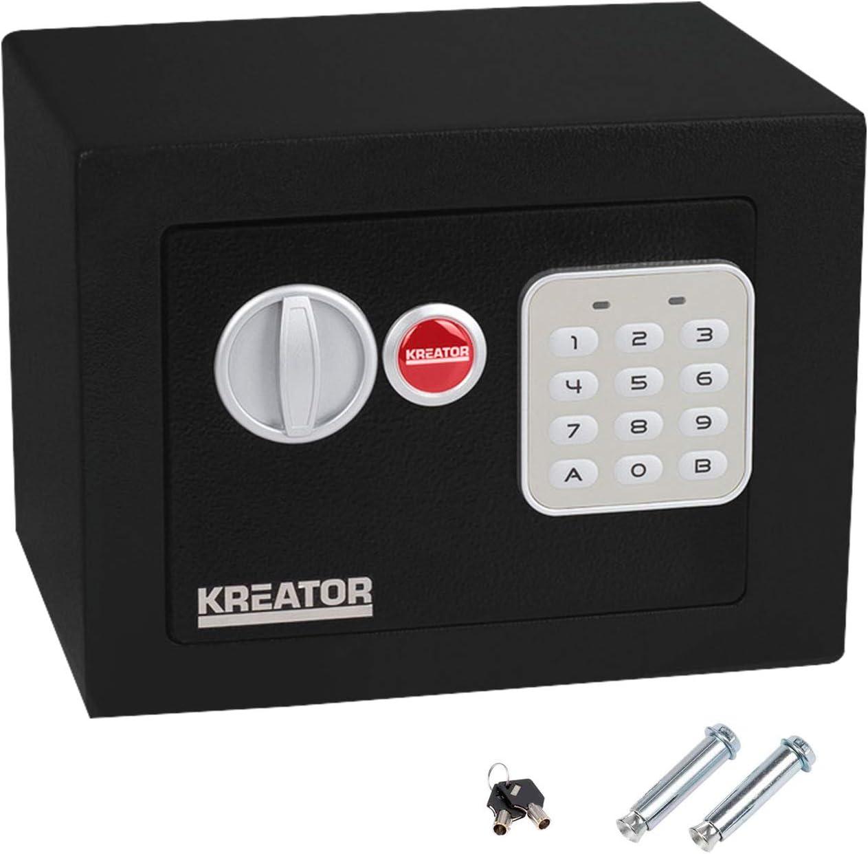 KREATOR KRT692007 KRT692007-Caja Fuerte electr/ónica Mini 170x230x170mm
