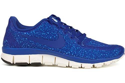 buy popular 911f5 ad68e Nike Womens FREE 5.0 V4 Running Shoes Hyper Blue Ice Blue 511281-403 Size
