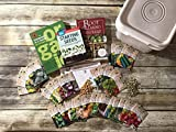 IRISH EYES GARDEN SEEDS - GARDENING SEED KIT - Over 11,000 Seeds, Non-GMO, 42 Varieties, 3 Books Included - SPECIALIZED FOR SOUTHERN GARDENERS - Perfect For Beginner and Advanced Gardeners!