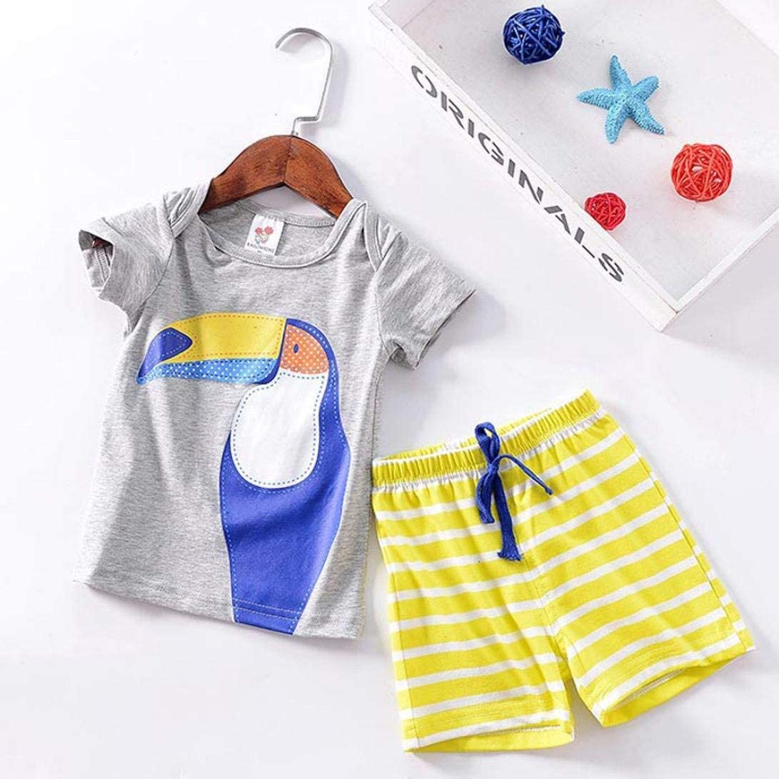 2PCS Cute Toddler Clothes Suit Long Pants Set Outfit New Baby Clothes Kids Baby Letter Print Hooded Top