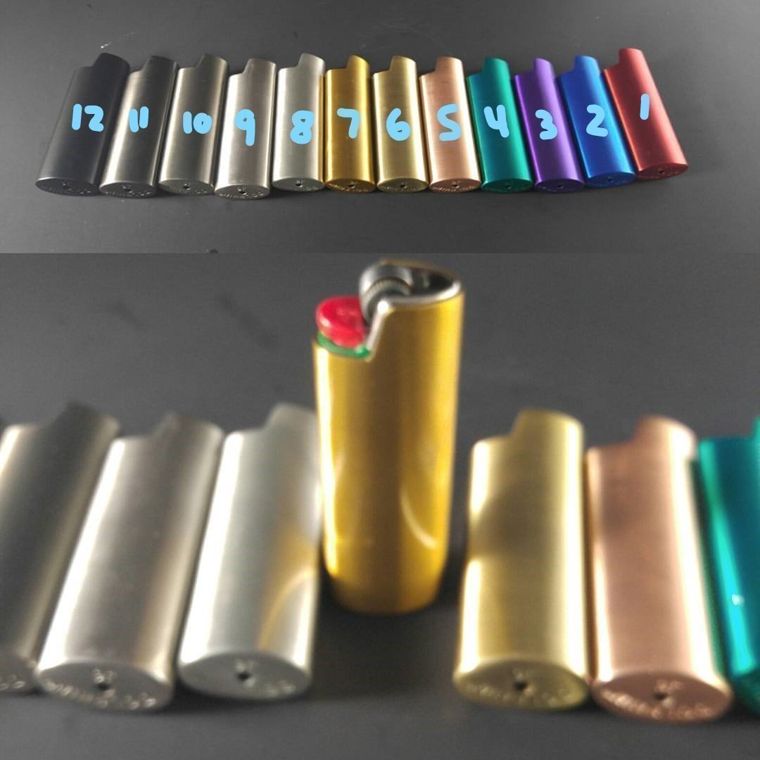 BIC Lighter Cover Metal Blank -Custom & Many Colors