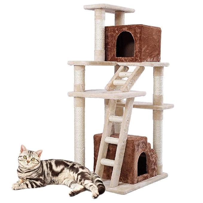 Centros de Actividades scratcher del gato Gato trepador for gatos ...