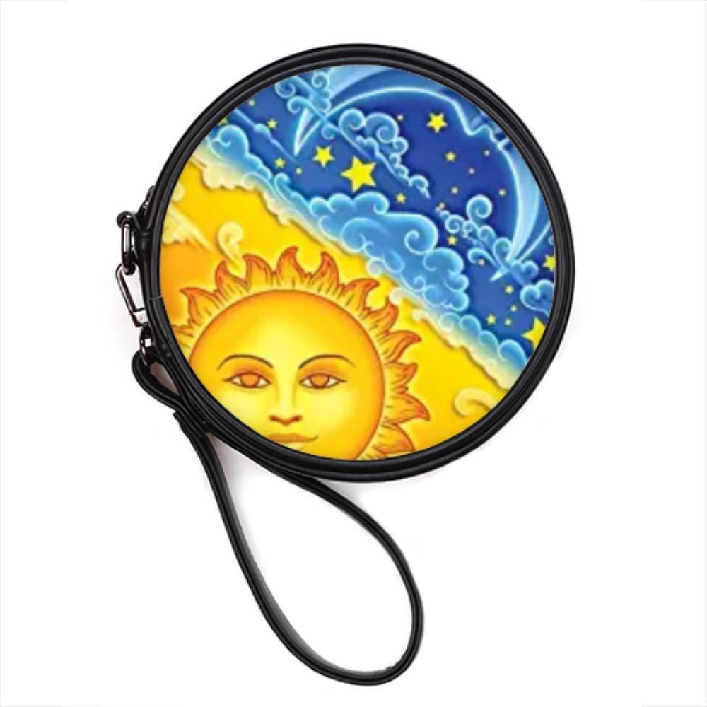 Amazon.com: Sol y Luna personalizado Ronda bolsa de ...