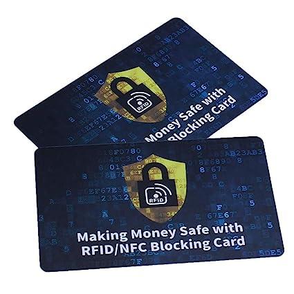 Tarjeta de Bloqueo RFID x 2 - Tarjetas Anti RFID Protección ...