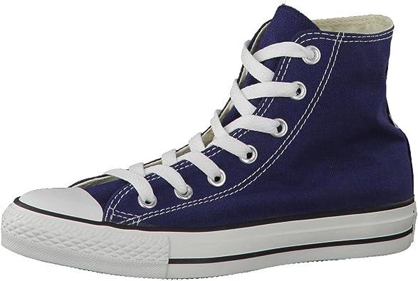 Converse Chuck Taylor All Star Hi, Zapatillas de tela Unisex, Azul (Navy Blue), 37 EU: Amazon.es: Zapatos y complementos