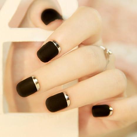 Buy Fake Nails False Nail Design Pretty Nail Designs Black Fake