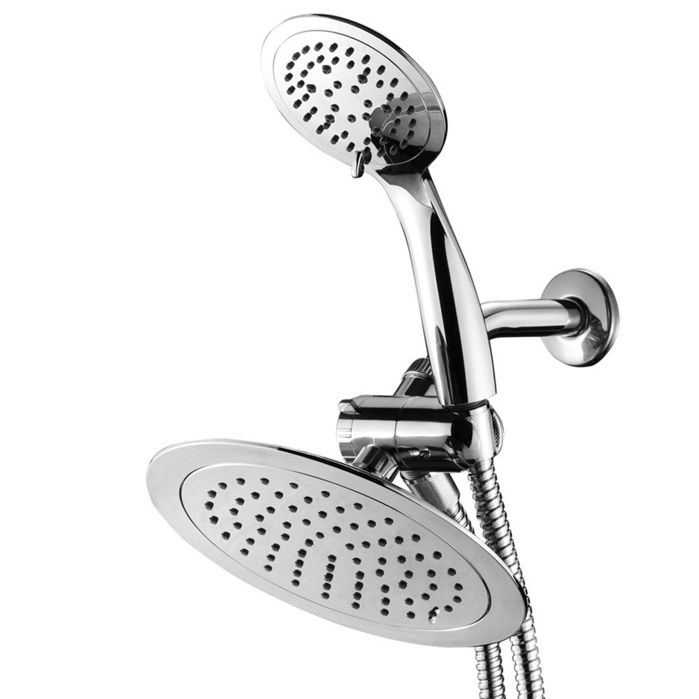 AquaSpa Razor High-Fashion 8'' Slimline Design 3-way Rainfall Combo