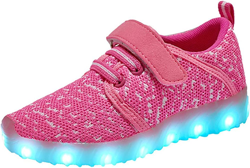 24XOmx55S99 LED Light Up Shoes USB Charging Flashing Sneakers for Kids Boys Girls