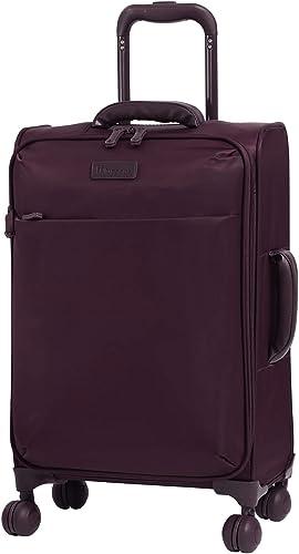 it luggage 22 Lustrous Softside Expandable Carry-On, Aubergine