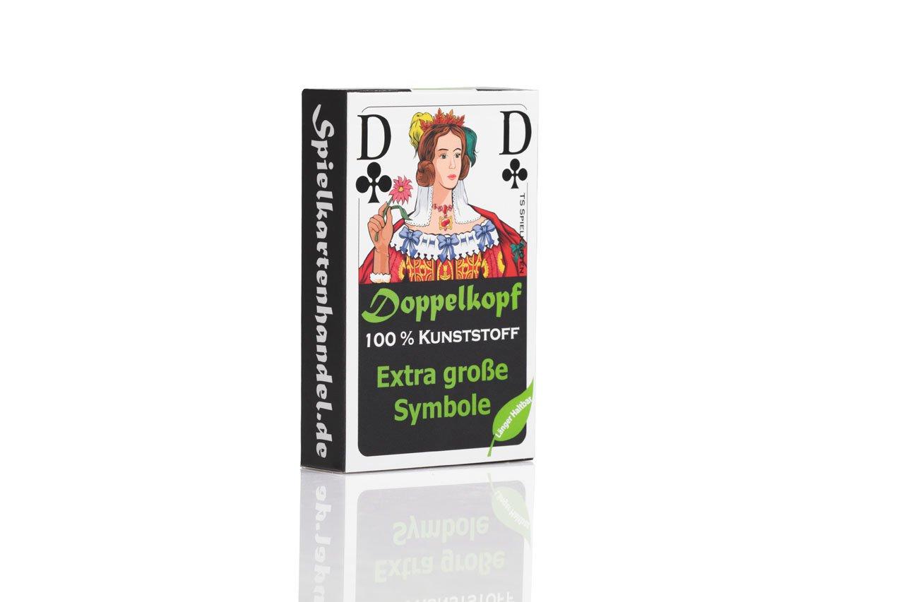 5 x x x Doppelkopf Senioren aus 100% Kunststoff *PREMIUM* (Plastik +) Spielkarten Französisches Bild 98caf4
