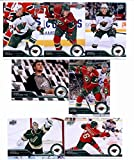 2014 / 15 Upper Deck Series 1 Minnesota Wild Veteran Team Set (Series 1 - 7 Cards) Including Ryan Suter, Nino Niederreiter, Matt Cooke, Zach Parise, Jonas Brodin, Jared Spurgeon, Darcy Kuemper