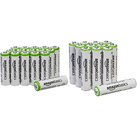 Amazon.com: AmazonBasics Pilas recargables AA (16 unidades ...