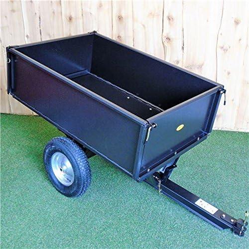Jardín remolque volquete de acero – plegable carro de Titan Pro: Amazon.es: Jardín