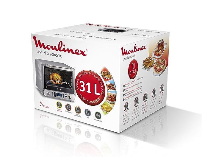 Moulinex OX678E00 - Horno (Pequeño, Horno eléctrico, 31 L, 2200 W ...