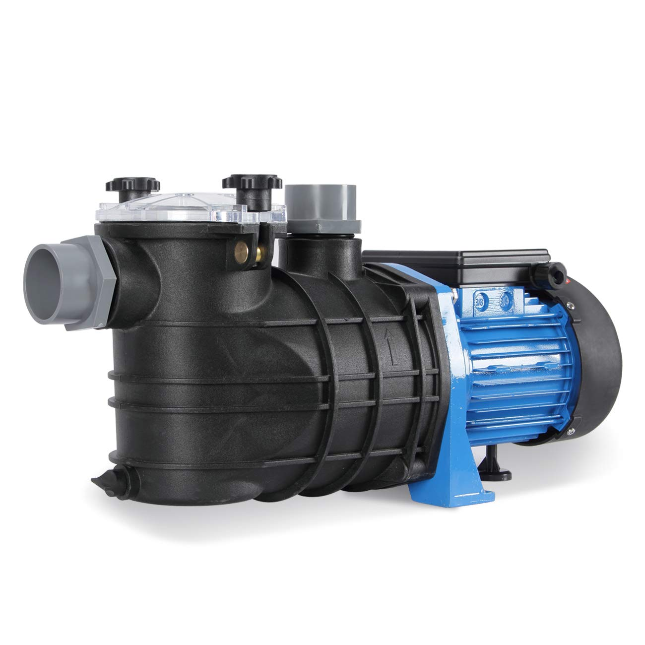 ARKSEN 1.2HP 900W Thermal Protected Swimming Pool Pump (UL Listed) Pond Spa Electric 4440GPH w/Hose Adapters