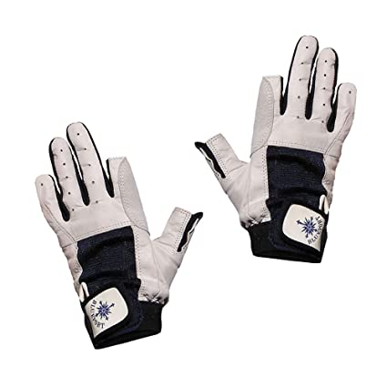 XXS Blue Port Handschuhe XXL 5-11 BluePort Segelhandschuhe Ziegenleder Gr