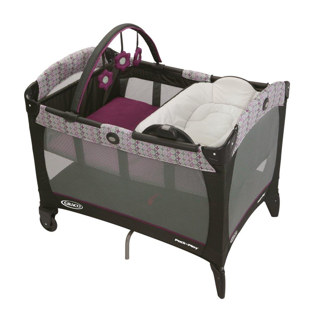 Amazon Com Dexbaby Playard Diaper Caddy And Nursery