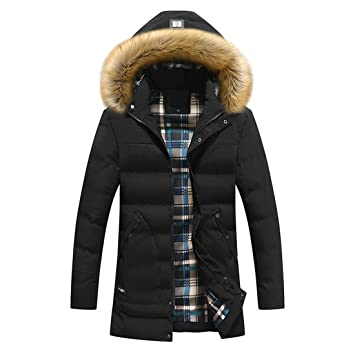 Ropa de hombre algodón|Hombres Coat Chaqueta invierno ...