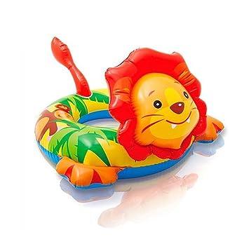 Flotador hinchable de león, ...