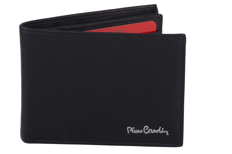Portafoglio uomo PIERRE CARDIN nero in pelle porta libretto assegni A5520