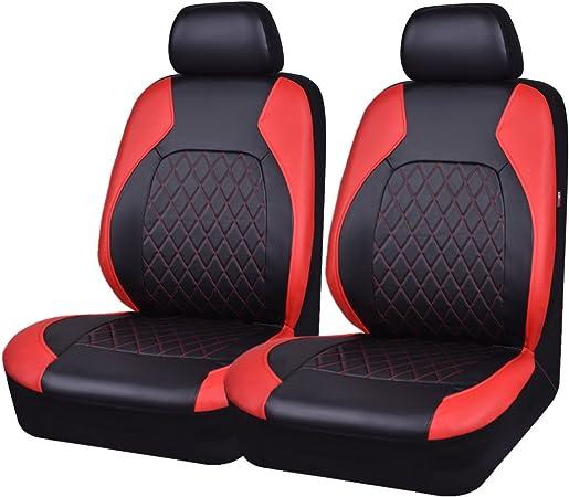 Universal Pu Leder Auto Sitzbezüge Set Auto Schonbezüge Für Die Vordersitze Mit Airbag Autositz Schutzbezug Auto