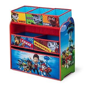 Delta Children Multi-Bin Toy Organizer, Nick Jr. PAW Patrol