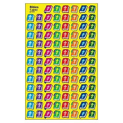 TREND enterprises, Inc. Bibles superShapes Stickers, 800 ct: Toys & Games
