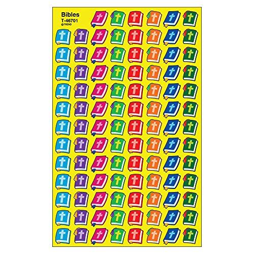 TREND enterprises, Inc. Bibles superShapes Stickers, 800 ct