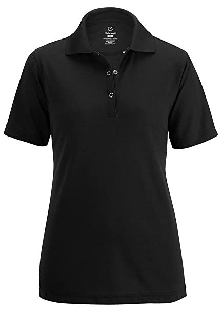 d3154d5a35959 Edwards Ladies Johnny Collar Mesh Polo at Amazon Women s Clothing store
