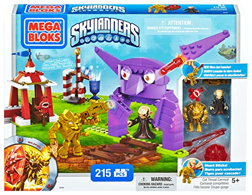 Mega Bloks Skylanders Throat Carnival product image