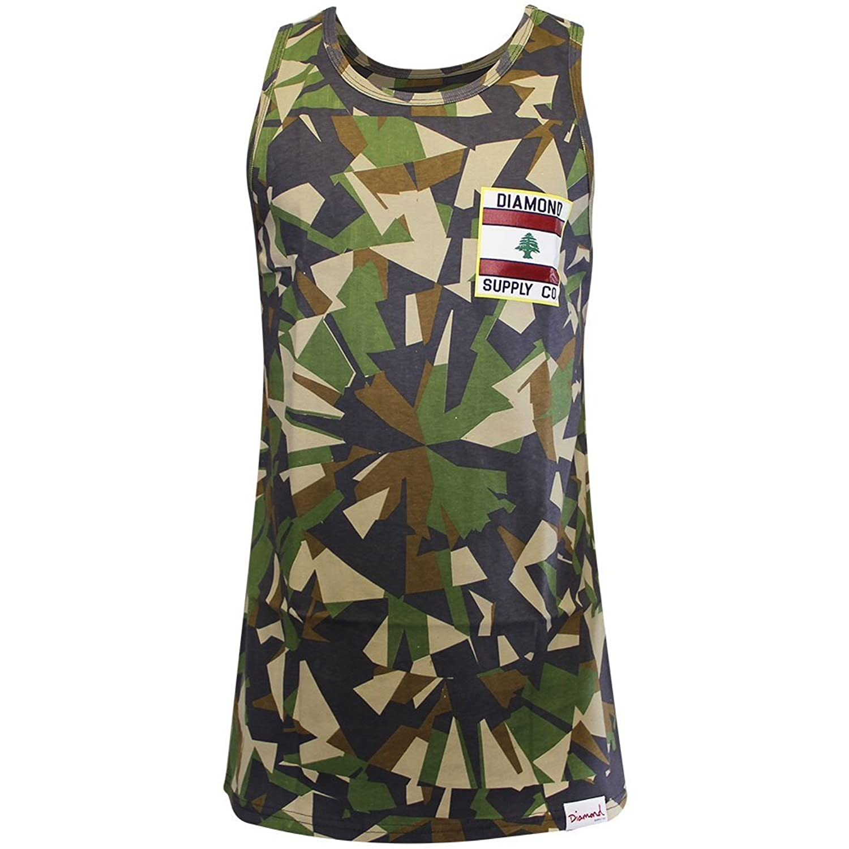 Lrg Tree 47 Tank Top Black Camouflage