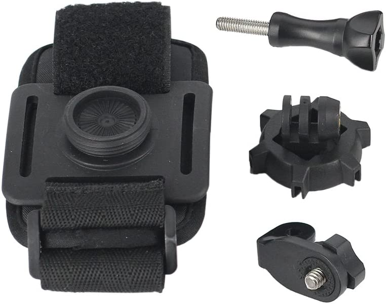 Shoulder Backpack for Action Camera Drift Such as REC-MOUNTS Rotary Multi-Mount Type 1 Rotary Multi Mount for Drift Wrist DF-56T1CN
