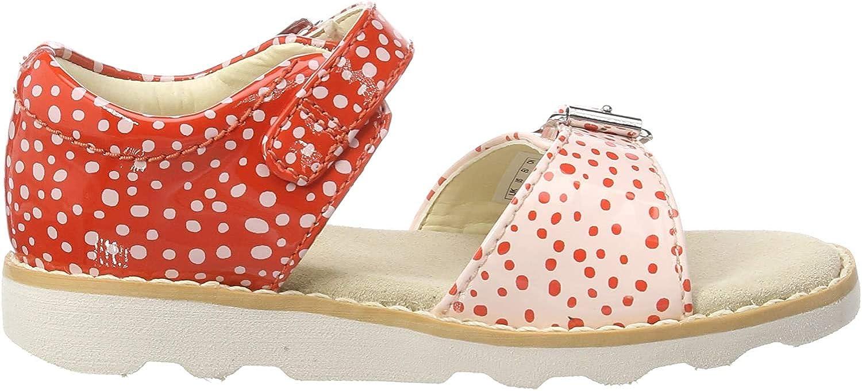 Clarks Girls Crown Bloom T Sling Back Sandals