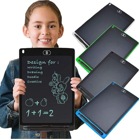 液晶電子クリエイティブタブレット幼児教育落書き図面書き込みメッセージ絵画ボード(ブラック8.5インチ)