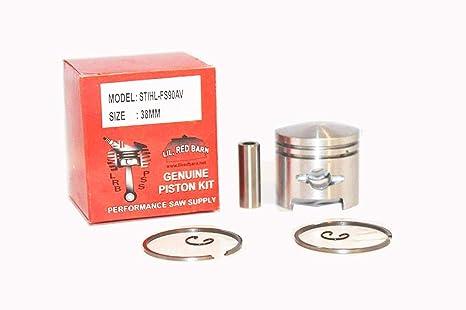 Amazon com: Lil Red Barn Stihl Fs90, Fs96 Piston Kit 38mm, Replaces