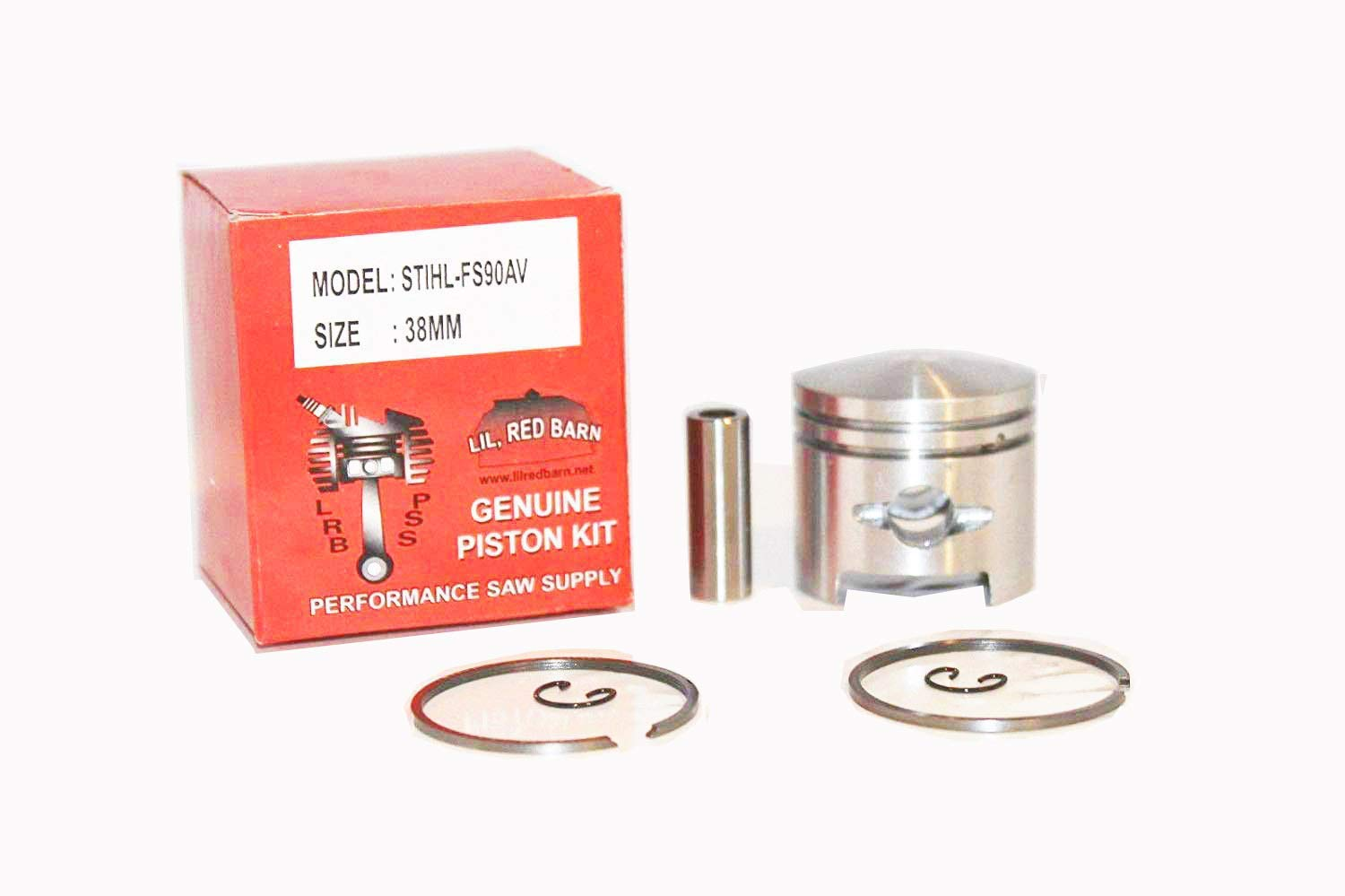 Lil Red Barn Stihl Fs90, Fs96 Piston Kit 38mm, Replaces Stihl Part # 4117-034-0500 Quality Tooling 2 Day Standard Shipping to All 50 States!
