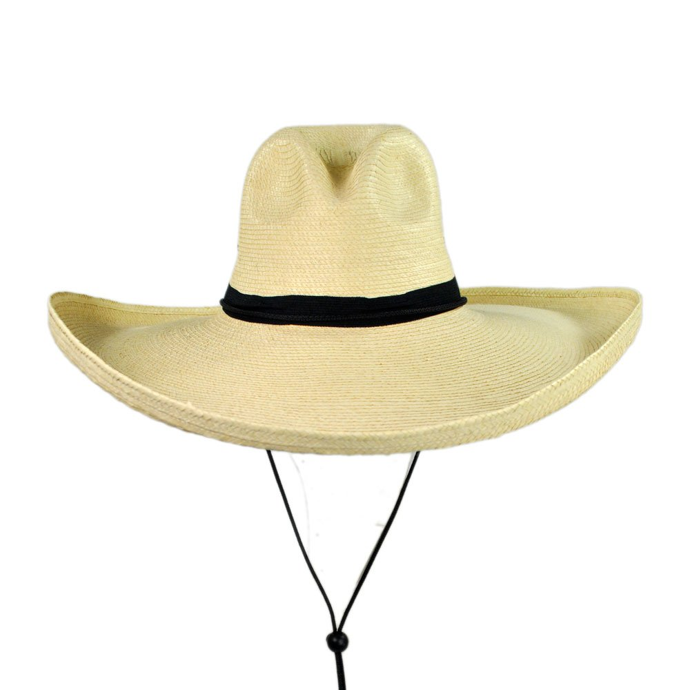6f83404cd6b SunBody Hats Gus Widebrim Guatemalan Palm Leaf Straw Hat at Amazon Men s  Clothing store