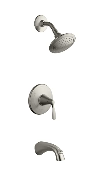 Kohler K R37028 4e Bn Bath Shower Faucet Vibrant Brushed Nickel