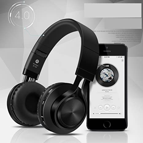 Bluetooth Auriculares Head-Arch Auriculares inalámbricos universales Auriculares de la Tarjeta-D