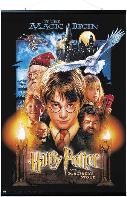 ERIK - Pack Póster Harry Potter y la piedra filosofal con colgador ...