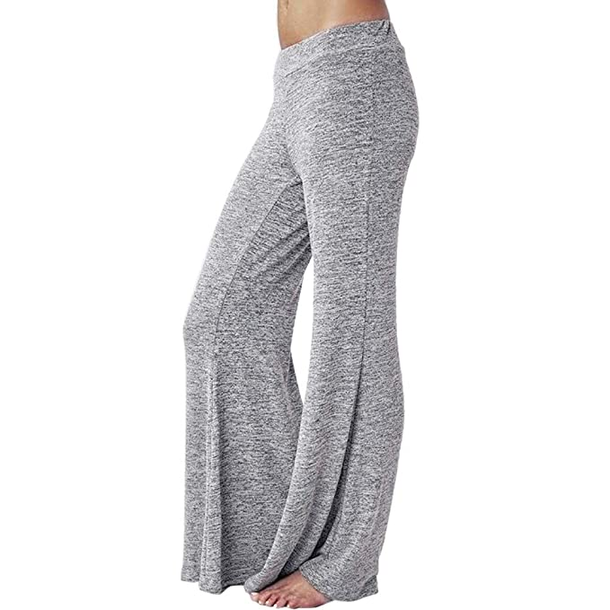 cbbf0a5302ce Longra-Pantaloni Sportivi All'Aperto Pantaloni Larghi - Pantaloni Tuta  Donna Eleganti Leggings Sport