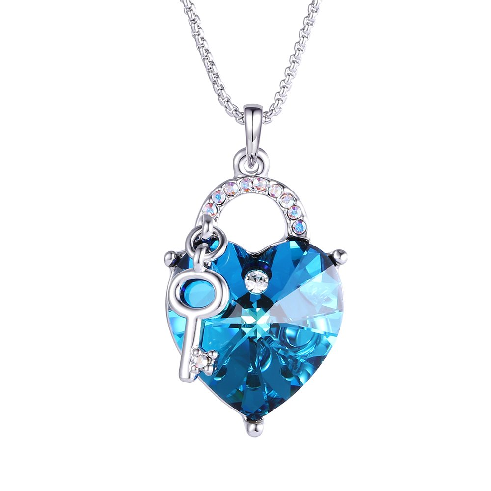 Xuping Pendant Christmas Crystals from Swarovski Jewelry M3-1803 (Blue)