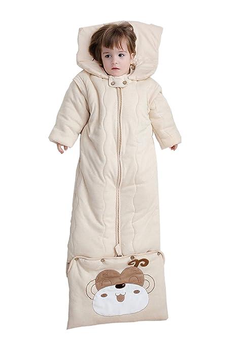 BabyFat Sacos de Dormir para Bebé Otoño/Invierno 3.5 Tog - Invierno - Beige Label