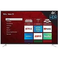 TCL Smart TV Pantalla 65 Pulg 4k 120hz Fhd Roku Integrado (Renewed)