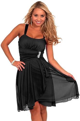 Women's Formal Cocktail Chiffon Ruched Sleeveless Mini Empire Waist Dress