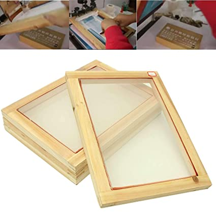 Amazon Com 1pc 345245mm Silk Screen Printing Frame With 43t
